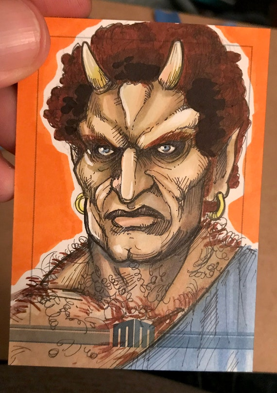 Sketch Card: Calibos, Clash of the Titans