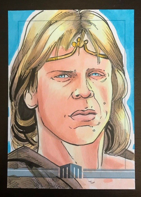 Sketch Card: Dar, the BeastMaster