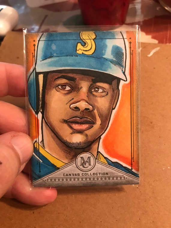 Topps Sketch Card: Ken Griffey Jr. 2019 MLB Museum Collection