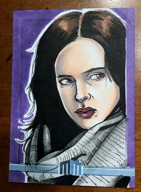 Sketch Card: Jessica Jones