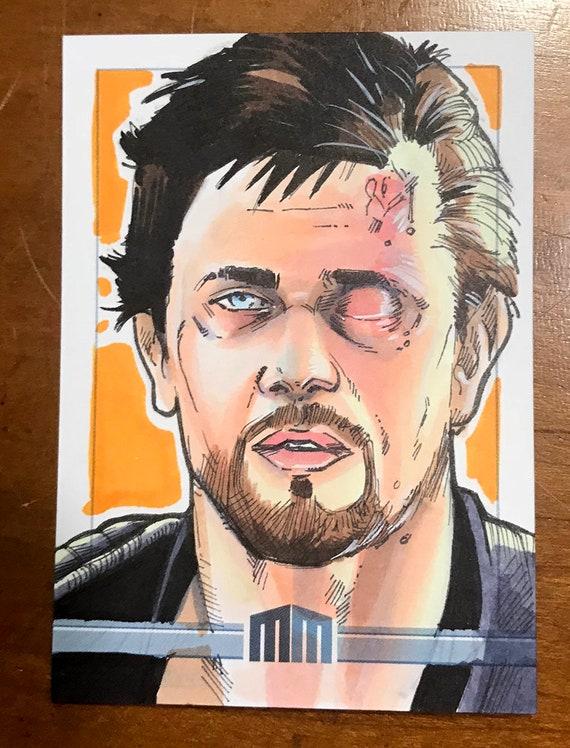 Sketch Card: Road Warrior Mad Max