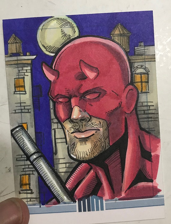 Sketch Card: Daredevil