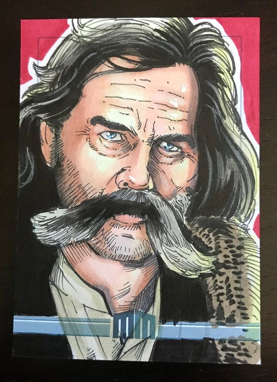 Sketch Card: John Ruth, from the Hateful 8