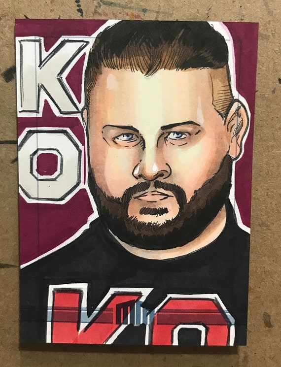 Sketch Card: Kevin Owens