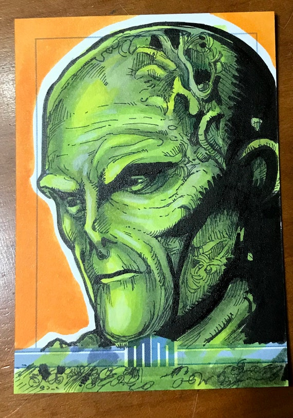 Sketch Card: Movie Swamp Thing