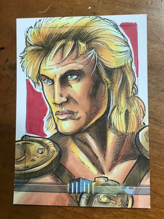 Sketch Card: He-Man from the Masters of the Universe film