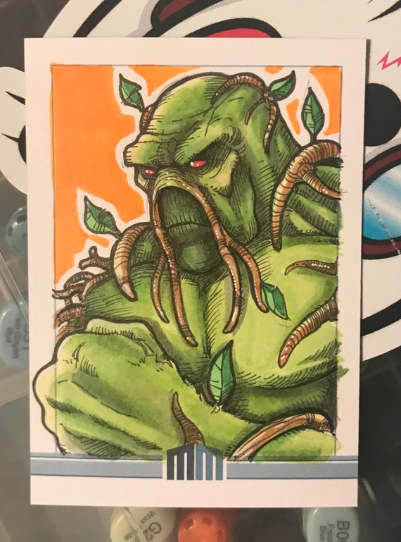 Sketch Card: Swamp Thing
