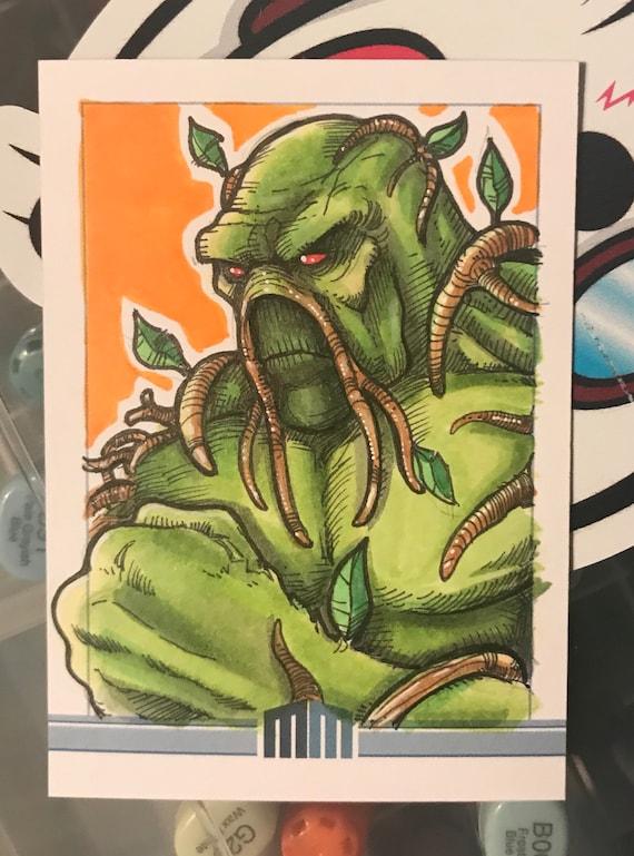 Sketch Card: Swamp Thing