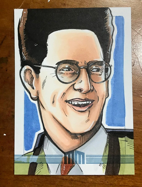 Sketch Card: Egon from Ghostbusters