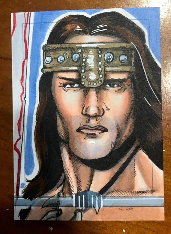 Sketch Card: Conan the Barbarian