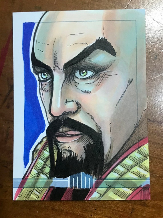 Sketch Card: Ming the Merciless