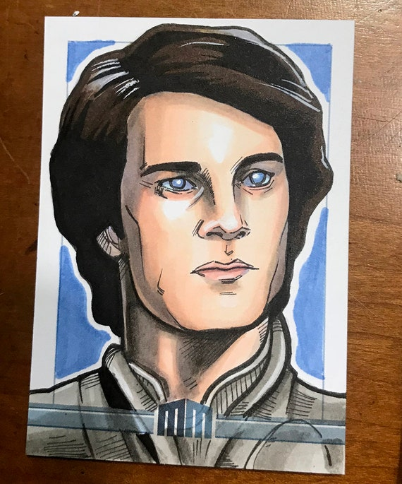 Sketch Card: Paul Atreides from Dune