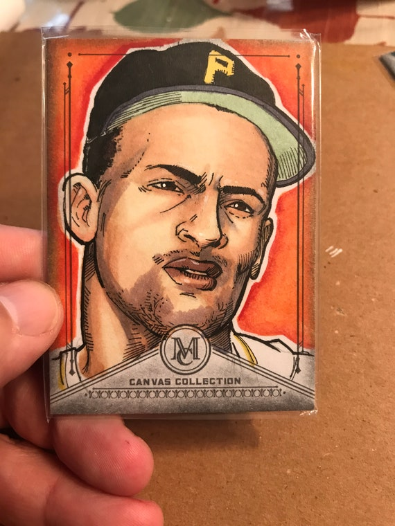 Topps Sketch Card: Roberto Clemente 2019 MLB Museum Collection