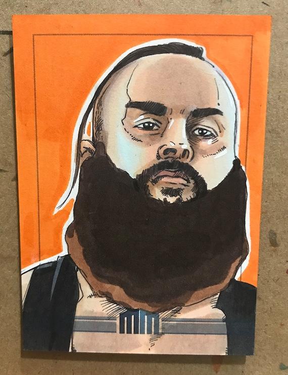 Sketch Card: Braun Strowman