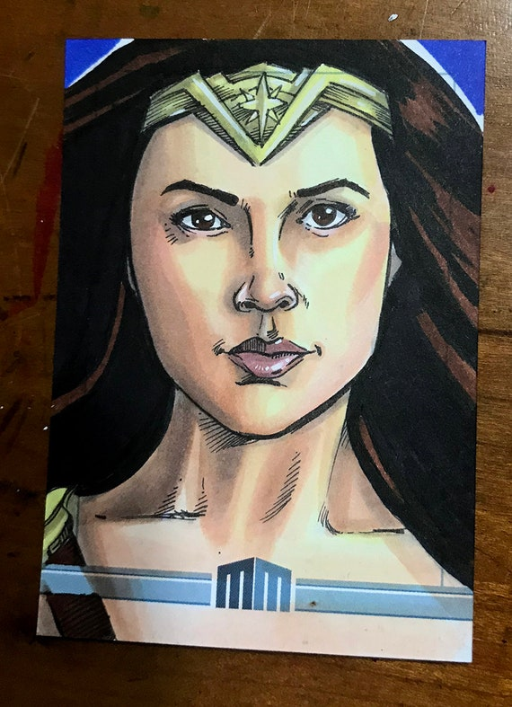 Sketch Card: Wonder Woman