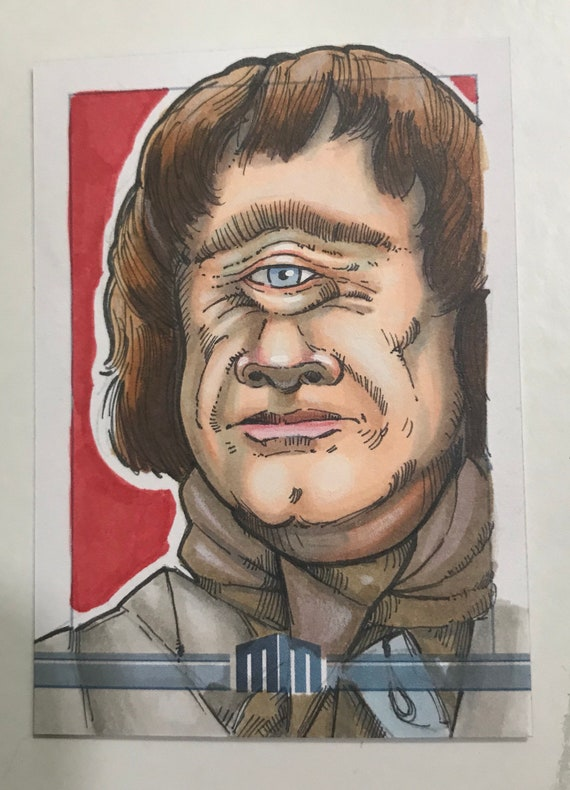 Sketch Card: Rell from Krull