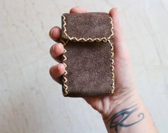 Handmade Leather Cigarette Case