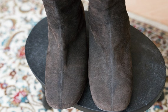 Brown Boots Go 1980s Go Suede 8xdwIFqF