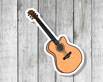 sticker laptop many colors Fender Stratocaster Guitar  Speaker vinyl decal