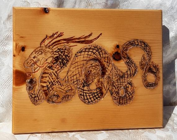 Chinese dragon wall hanging