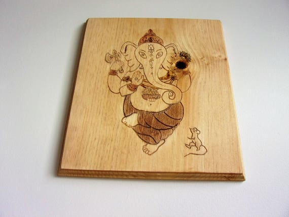 Ganesha Hand made wall decor