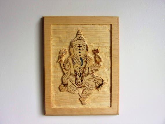 Ganesha in Chisled Relief