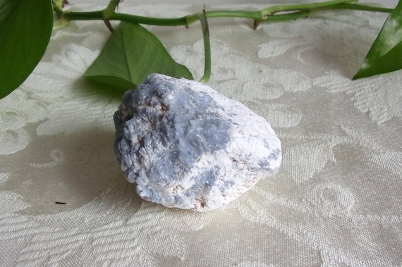 Natural/Rough Angelite Nodule