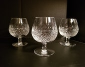 Vintage Waterford Crystal Brandy Snifter ( Colleen Pattern ) Retired made in Ireland sold separately.