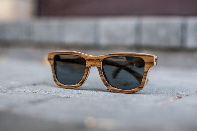 a29f243096d Sunglasses Wooden Wayfarer Wooden Eyewear Polarized Man