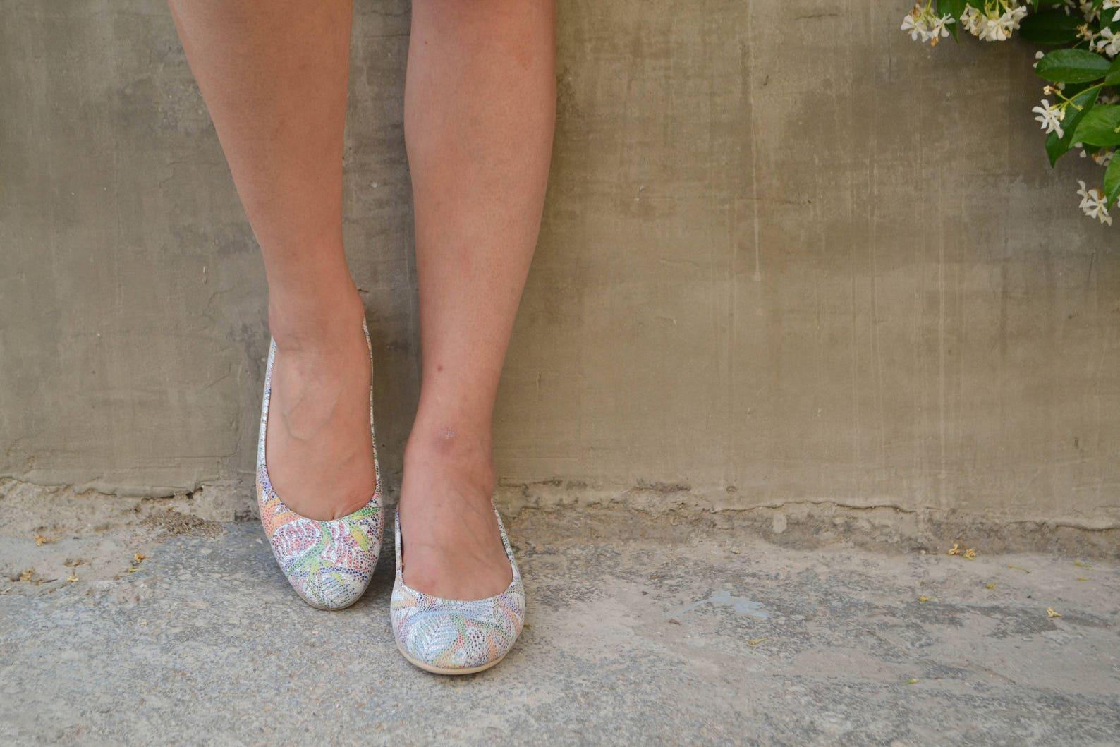 floral leather ballet flats ballerinas ballerina's ballerina pumps ballerina flats ballerina shoes ballet slippers ballet sh