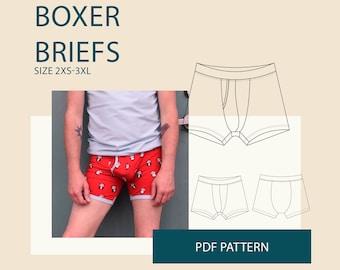 1969a2f2dc40e Men s boxer briefs for men sewing pattern pdf