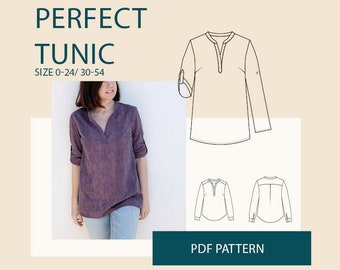 f99afad097c2f8 Tunic sewing pattern