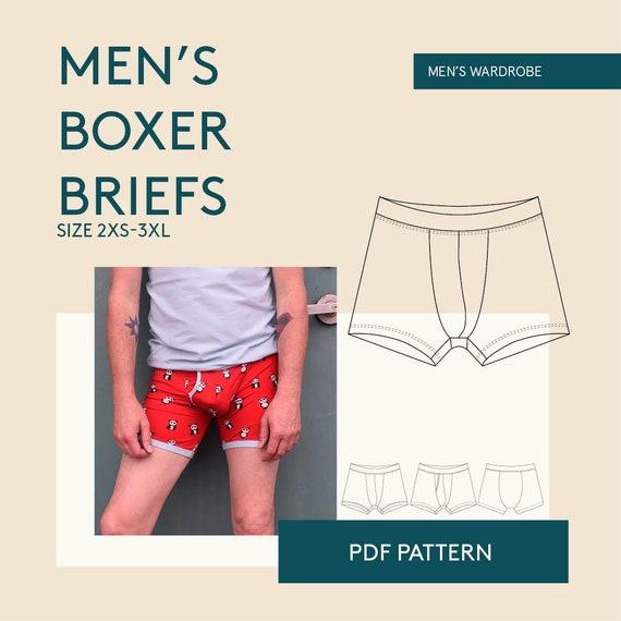 Herren kostenlos boxershorts schnittmuster Boxershorts nähen