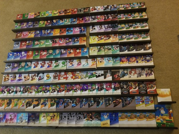 Full Complete Amiibo Display Wall Shelves Stands Over 190 Etsy
