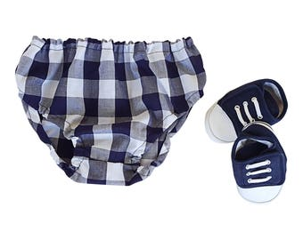 Plaid Baby Clothes Diaper Nappy Cover Baby Bloomers Baby Boy Clothes Trendy Baby Clothes Bloomers Nappy Covers Diaper Covers Baby Shower