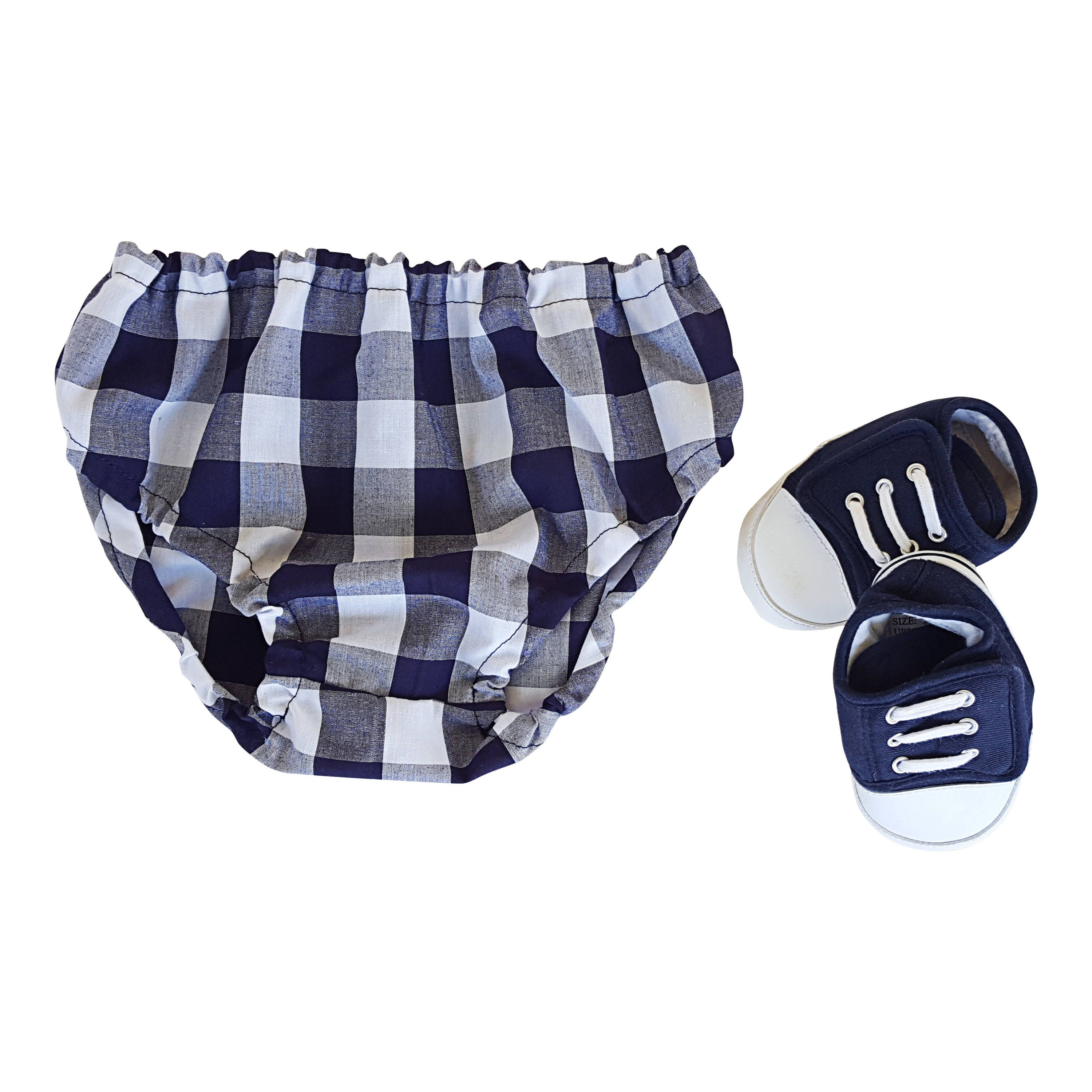 Plaid Baby Clothes Diaper Nappy Cover Baby Bloomers Baby