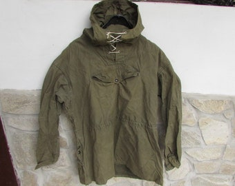 08f1dfaab59 Old Military Green Canvas Anorak and trousers