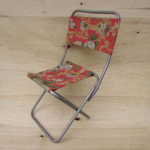 Petite Chaise Pliante Peche Vintage