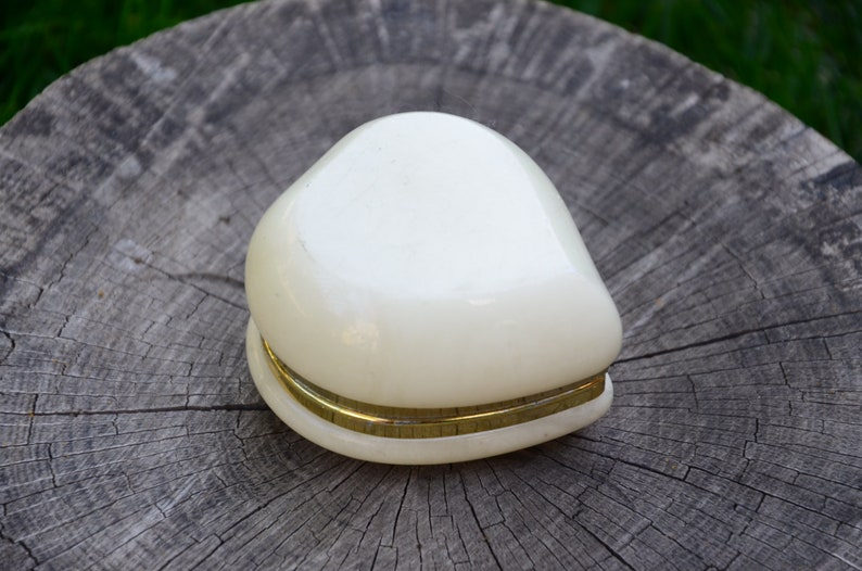 Marble box Marble Jewelry Gift idea White marble jewelry box heart Heart jewelry box Jewelry box Vintage jewelry box