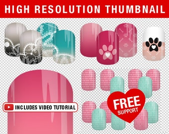 Jamberry etsy transparent background nas thumbnail template multiple thumbnail collages pixlr and photoshop jamberry compatible stopboris Images
