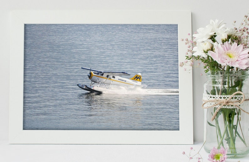 Transportation Wall Art  Transportation Decor  Plane Print  image 0