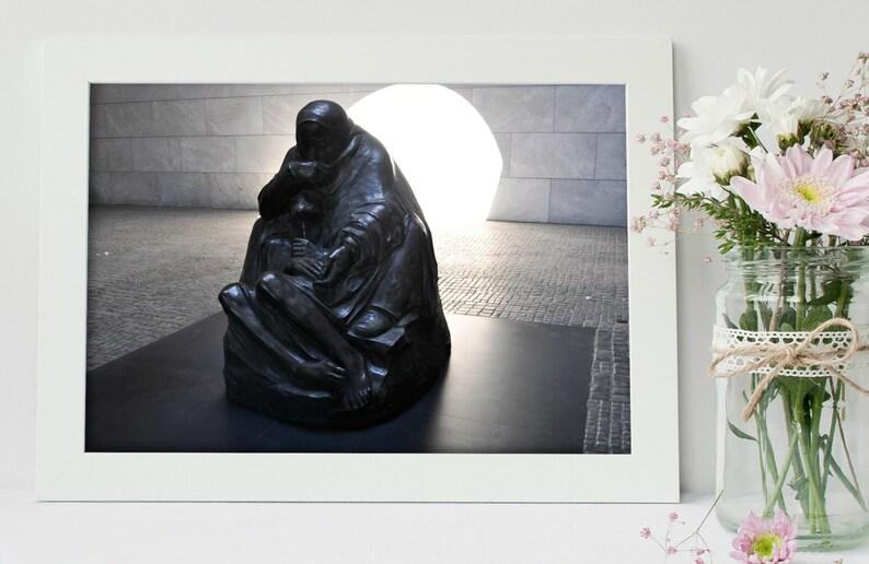 German Art  Housewarming Gift  Cubical Decor  History Gift image 0