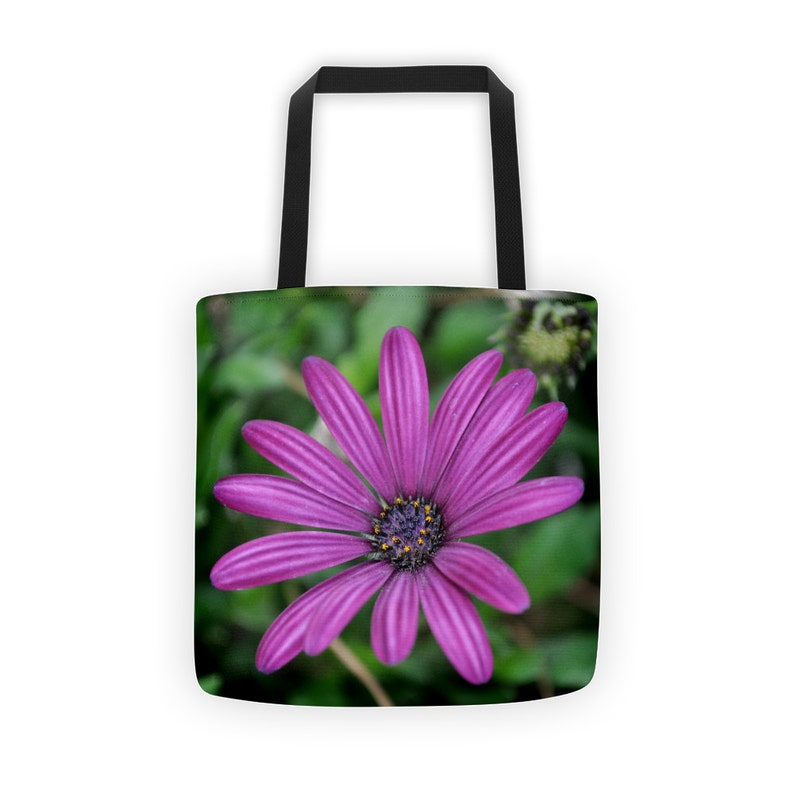 Totebag  Tote Bag Canvas  Floral Tote Bag  Nature Gifts  image 0