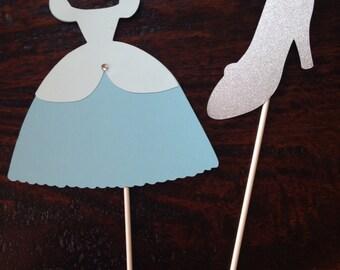 Princess centerpiece sticks, birthday party, princess party
