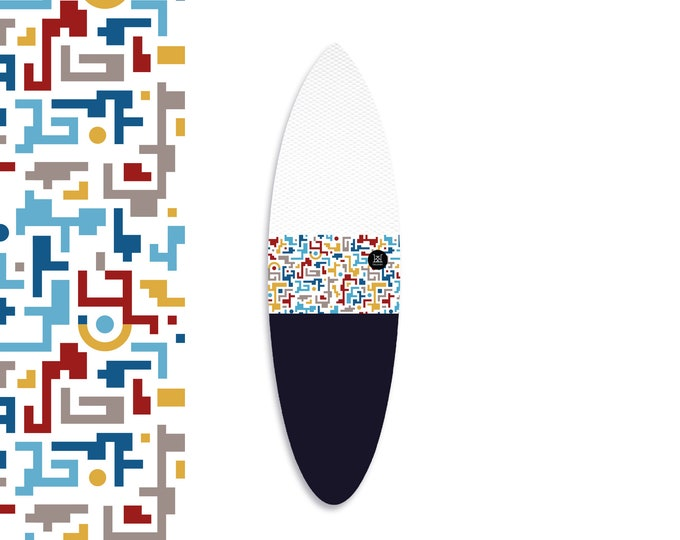 NEW IN | Oh  Surfing Crete - White | Surfboard Sock