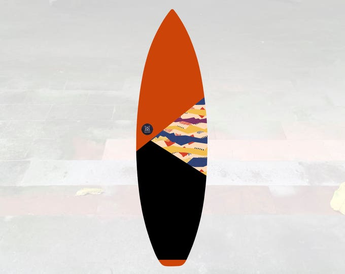 Volcan-Oh | Surfboard Sock | Triangle Lava