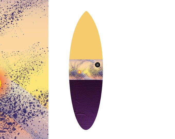 NEW IN | Oh  Sunset Splatter - Cheerful | Surfboard Sock