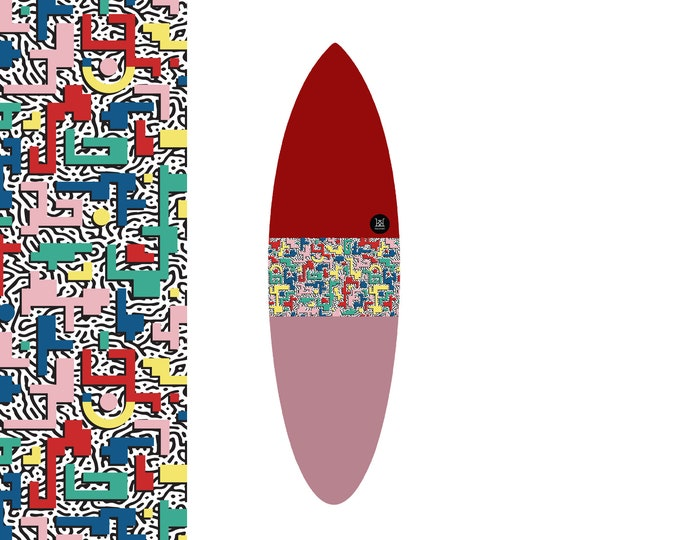 NEW IN | Oh  Arcade Bauhaus - Pinky & Blinky | Surfboard Sock