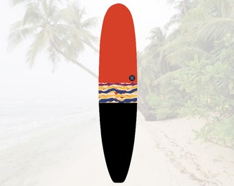 NEW IN | Volcan-Oh Lava Baklava | Surfboard Sock | Shortboard  Longboard