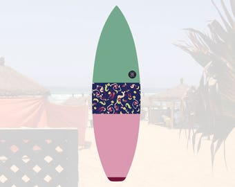 Oh Mangod | Surfboard Sock | Horizon Sunrise
